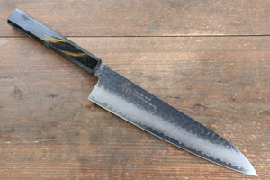 Sakai Takayuki VG10 33 Layer Damascus Gyuto Japanese Knife 240mm with Live oak Lacquered (Saiu) Handle