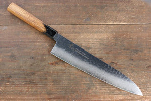 Sakai Takayuki VG10 33 Layer Damascus Gyuto Japanese Knife 240mm with Live oak Lacquered (Kurokami) Handle