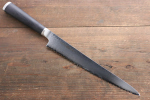 Miyako 33 Layer Damascus AUS-8a Bread Slicer Japanese Chef Knife, 240mm