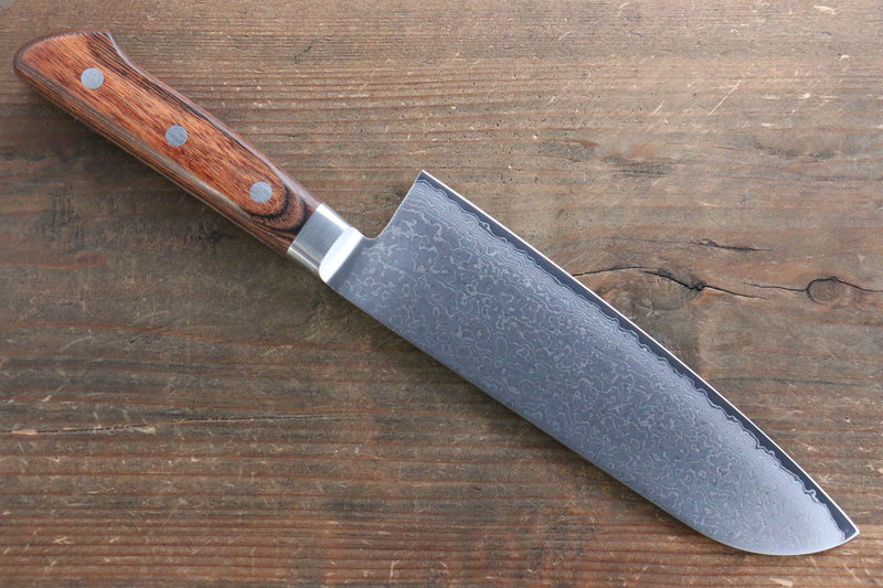 Tamahagane  63 Layer Damascus Santoku Japanese Knife 175mm - Japanny - Best Japanese Knife