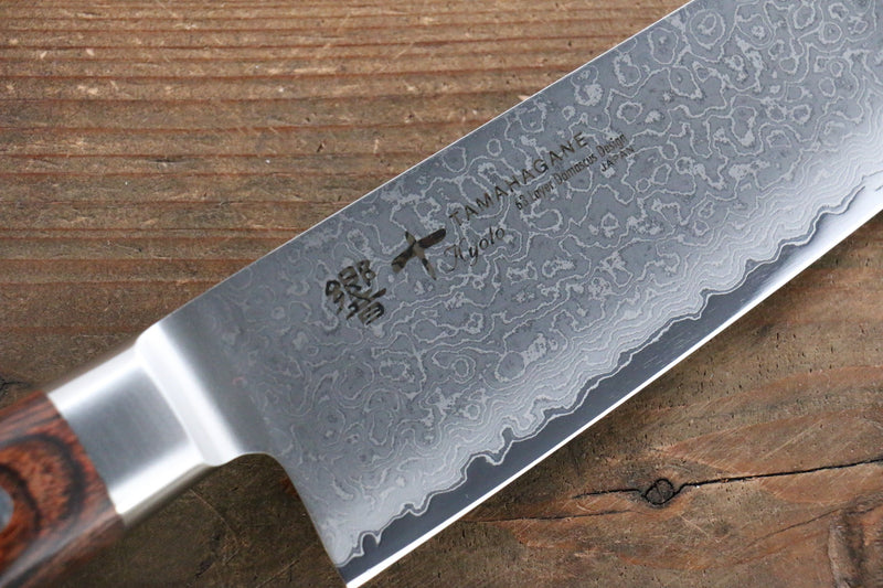Tamahagane  63 Layer Damascus Gyuto Japanese Knife 210mm - Japanny - Best Japanese Knife