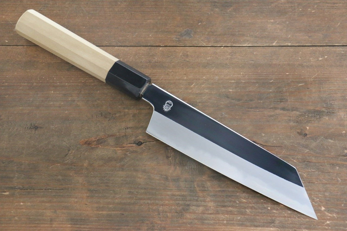 exceptional Japanese Chef Knives Direct Part - 10: Choyo White Steel Mirrored Kiritsuke Santoku Japanese Chef Knife 180mm