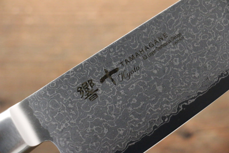 Tamahagane kyoto 63 Layer Damascus Santoku Japanese Knife 160mm KP-1115 - Japanny - Best Japanese Knife