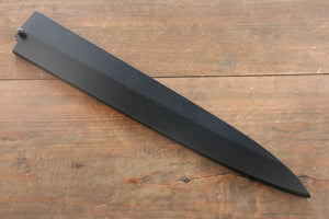 Black Saya Sheath for Yanagiba Knife with Plywood Pin-270mm
