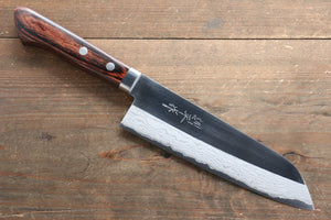 Kunihira VG1 Migaki Santoku Japanese Chef Knife 170mm with Bolster