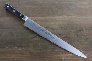 Misono Swedish Steel Sujihiki Japanese Chef Knife Dragon engraving