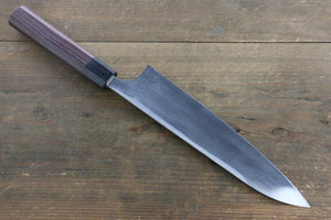Seisuke Blue Steel No.2 Hammered Kurouchi Gyuto Japanese Chef Knife 210mm