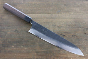 Seisuke Blue Steel No.2 Hammered Kurouchi Gyuto Japanese Chef Knife 240mm