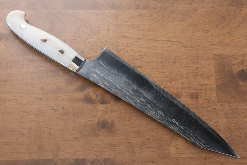 Yu Kurosaki Juhyo SPG2 Hammered Gyuto Japanese Knife 240mm Acrylic Handle - Japanny - Best Japanese Knife