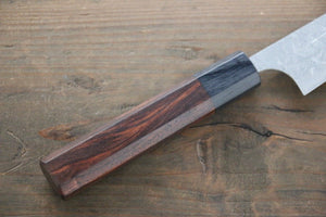 Saji R2/SG2 Petty Japanese Chef Knife 135mm with Shitan Rosewood handle