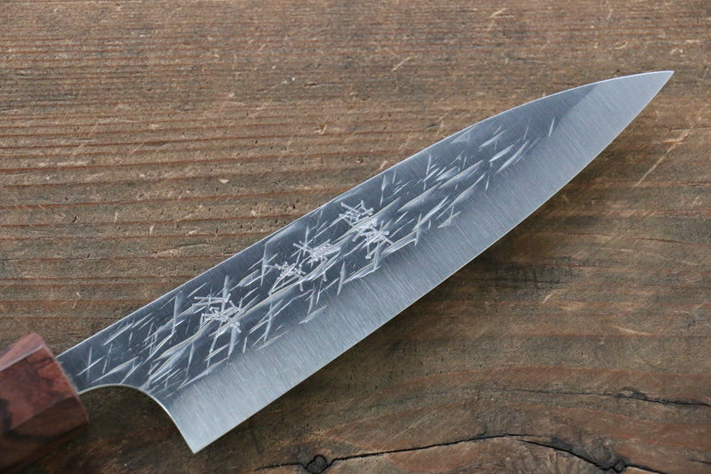 Yu Kurosaki Raijin Cobalt Special Steel Hammered Petty-Utility Japanese Knife 120mm - Japanny - Best Japanese Knife