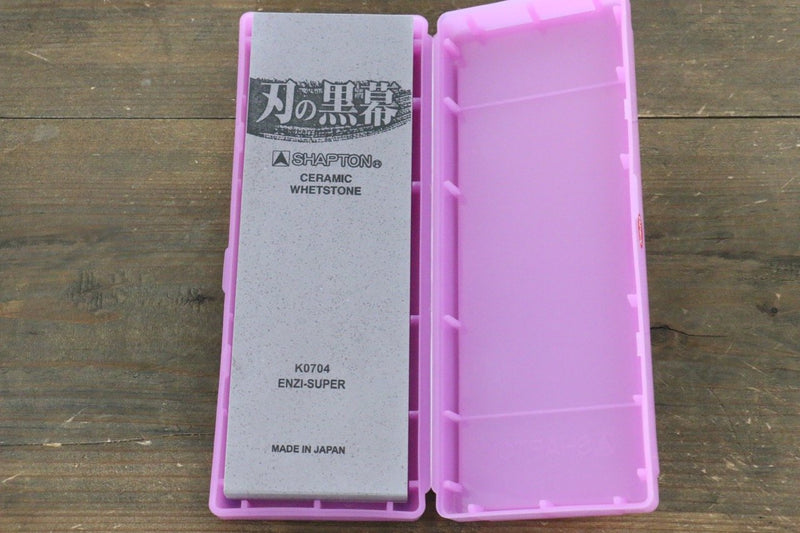 Shapton Kuromaku series Fine Sharpening Stone Enji-#5000 - Japanny - Best Japanese Knife