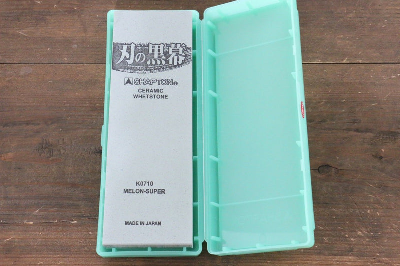 Shapton Kuromaku series Fine Sharpening Stone Melon-#8000 - Japanny - Best Japanese Knife