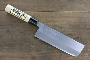 Tojiro White Steel Migaki Finished Nakiri Japanese Chef Knife 165mm