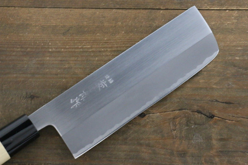 Tojiro White Steel Migaki Finished Nakiri Japanese Chef Knife 165mm - Japanny - Best Japanese Knife