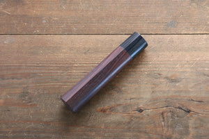 Chestnut Shitan Handle for Nakiri Knife 165mm
