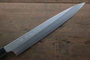 Hideo Kitaoka Blue Steel No.2 Damascus Yanagiba Japanese Chef Knife 210mm