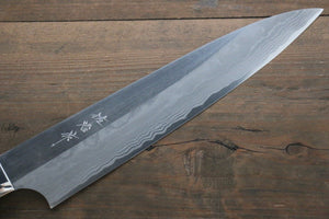 Saji Blue Super Steel Gyuto Japanese Chef Knife 240mm with Black Micarta handle