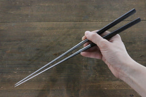 Moribashi Japanese cooking chopstick with ebony handle