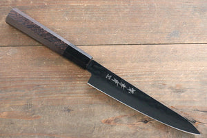 Sakai Takayuki  Kurokage VG10 Hammered Teflon Coating Petty-Utility Japanese Knife 150mm with Wenge Handle