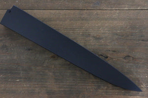 Black Saya Sheath for Yanagiba Sashimi Knife with Plywood Pin