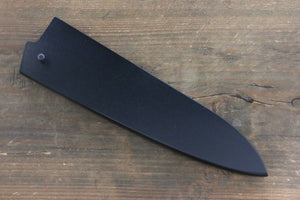 Black Saya Sheath for Gyuto Chef's Knife with Plywood Pin-180mm