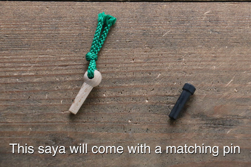 Saya Sheath for Gyuto Knife with Plywood Pin-210mm - Japanny - Best Japanese Knife
