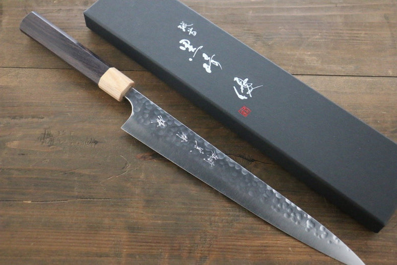 Yu Kurosaki R2/SG2 steel Hammered Japanese Chef���s Sujihiki Knife 270mm - Japanny - Best Japanese Knife