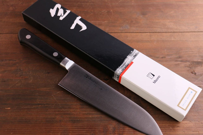 Misono Molybdenum Santoku Japanese Knife 180mm - Japanny - Best Japanese Knife