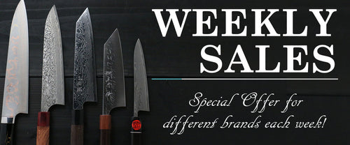 WEEKLY SALES - Special offers for different brands each week!