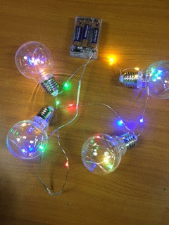 Decorative lights on Battery NEW -  - Sukkahmart South Africa