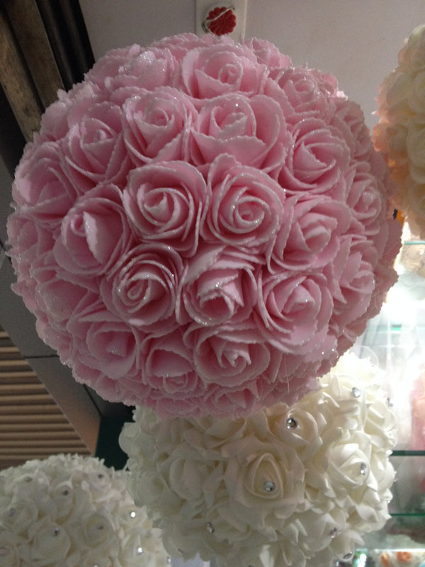 25cm Flower ball - decorations - Sukkahmart South Africa