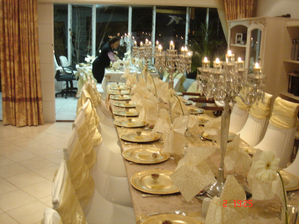 Luxury chair covers - decorations - Sukkahmart South Africa