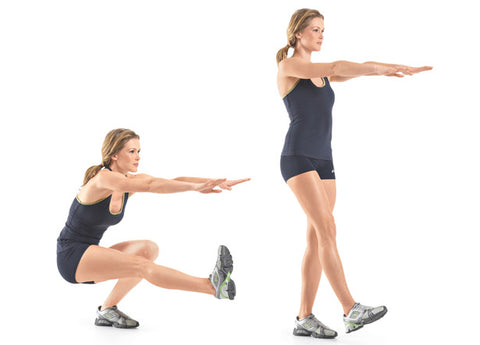 Crossfit pistol squat