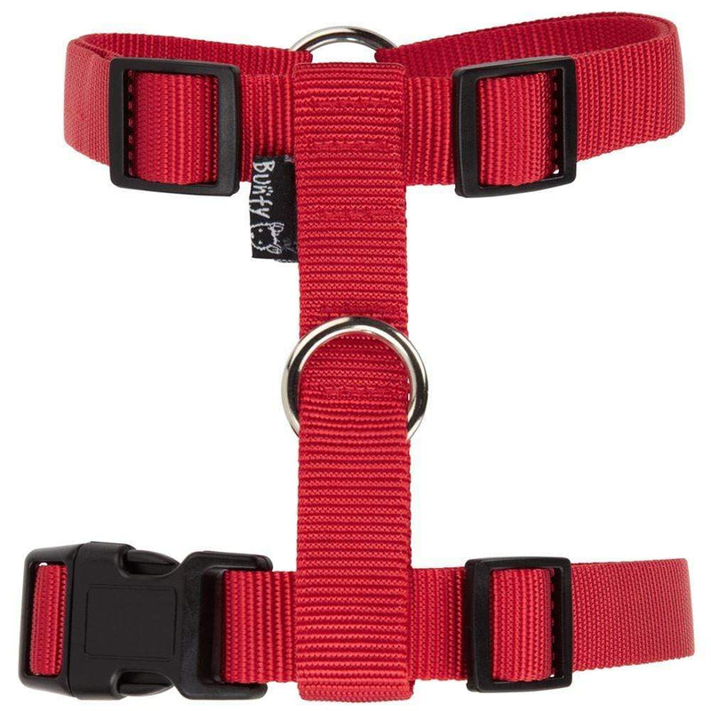 Bunty Adjustable Nylon Dog Puppy Fabric Harness Vest Anti Non Pull Lead Leash
