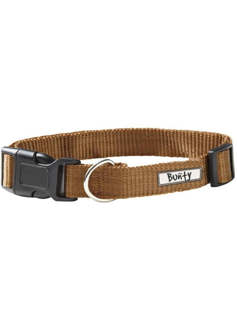 Adjustable Soft Fabric Dog Puppy Collar with Buckle and Clip for Lead