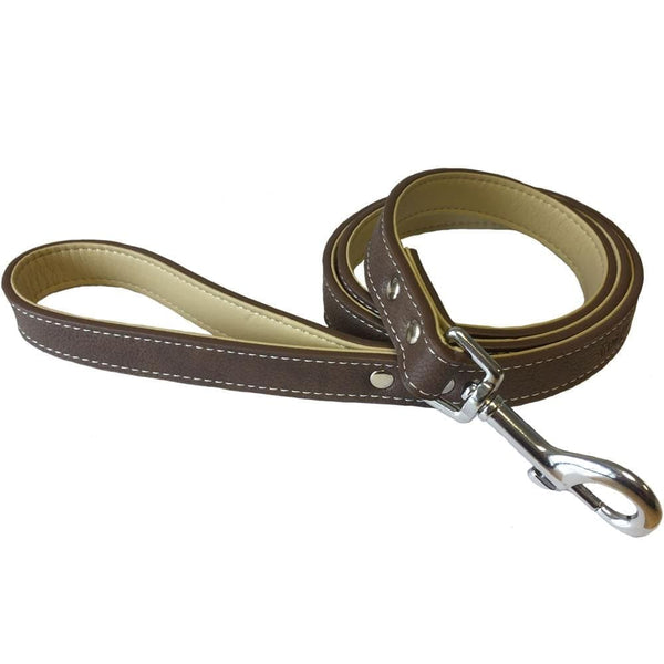 Leather Style Dog Lead
