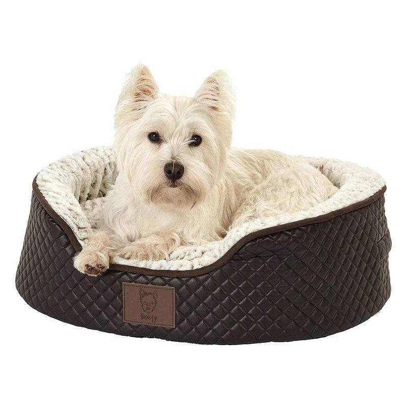 Bunty Manhattan Quilted Dog Bed