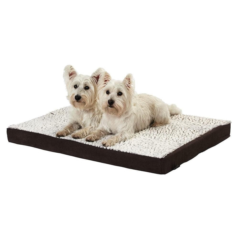 Bunty Soft Washable Dog Bed -  Mattress Basket Bed Cushion Fleece Pillow - Personalised Option