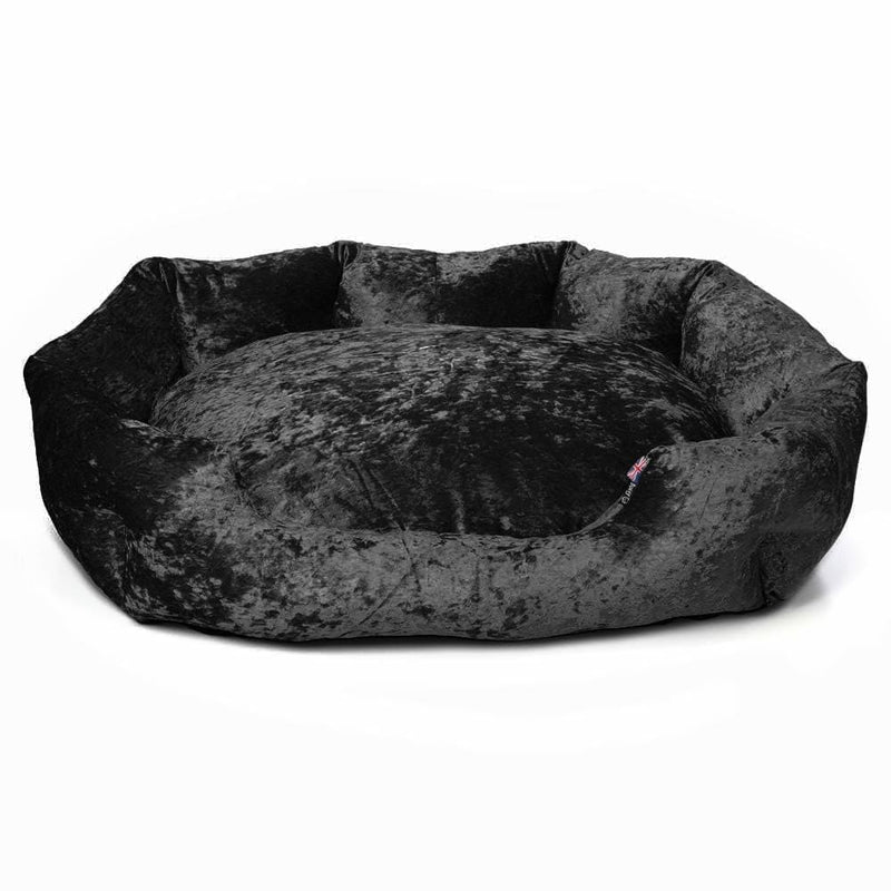 Bunty Bellagio Dog Bed - Black - Personalised Option