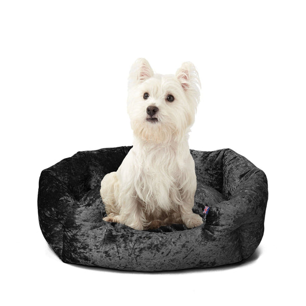 Bunty Bellagio Dog Bed - Black