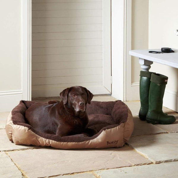 Fleece Dog Bed - Washable - Bunty Deluxe