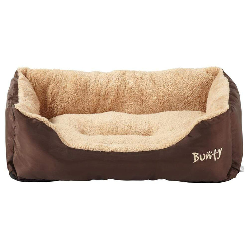 Deluxe Soft Washable Dog Pet Bed - Basket, Bed Cushion with Fleece Lining
