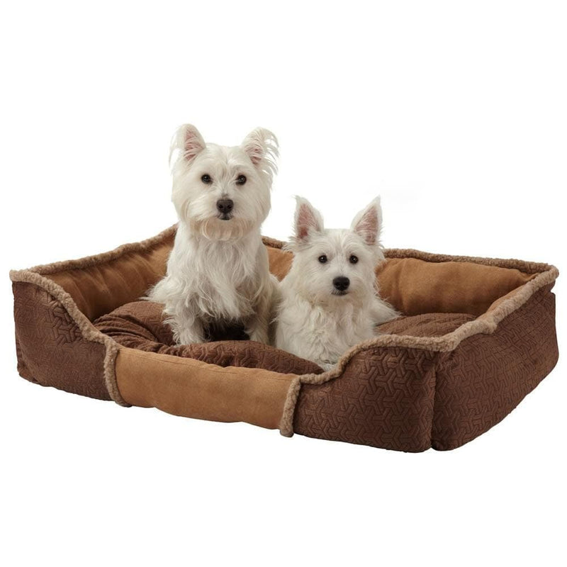 Bunty Kensington Dog Bed Soft Washable Fleece Fur Cushion Warm Luxury Pet Basket