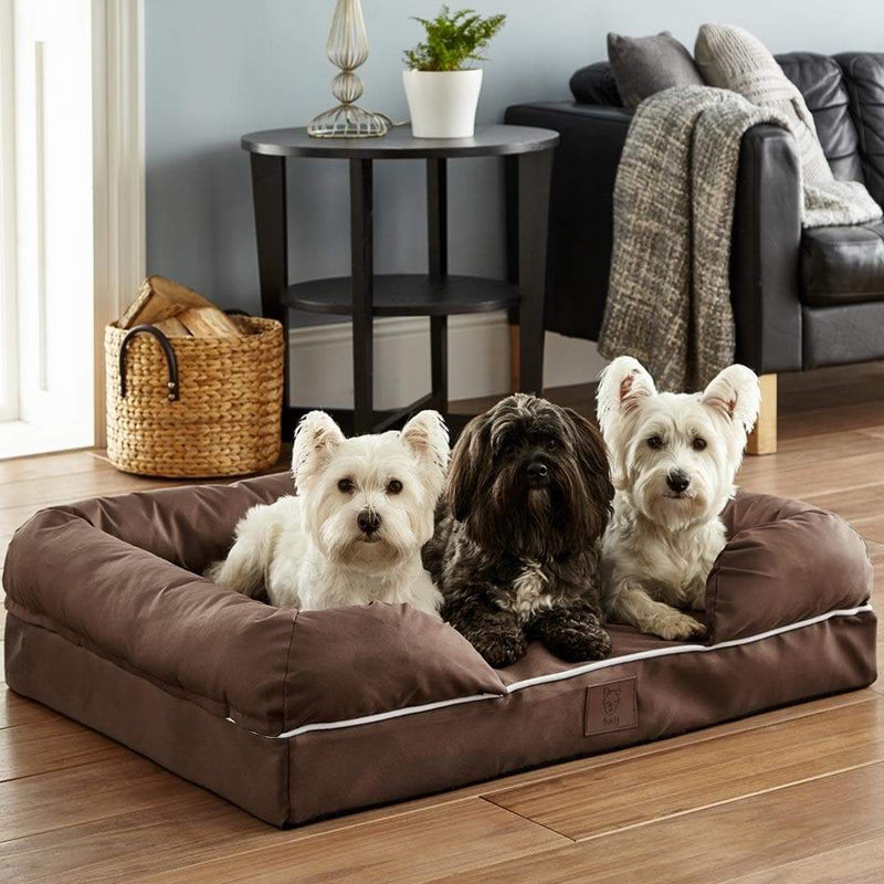 Cosy Couch Mattress Dog Bed - Personalised Option - Bunty