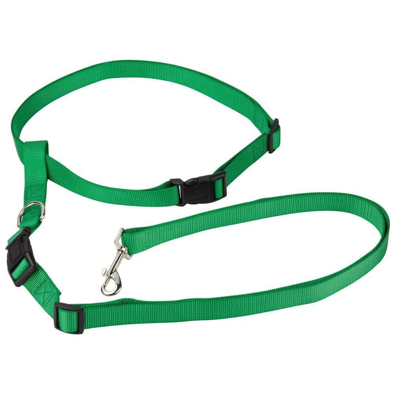 Adjustable Handsfree Hands Free Dog Running Jogging Waist Belt Lead Leash