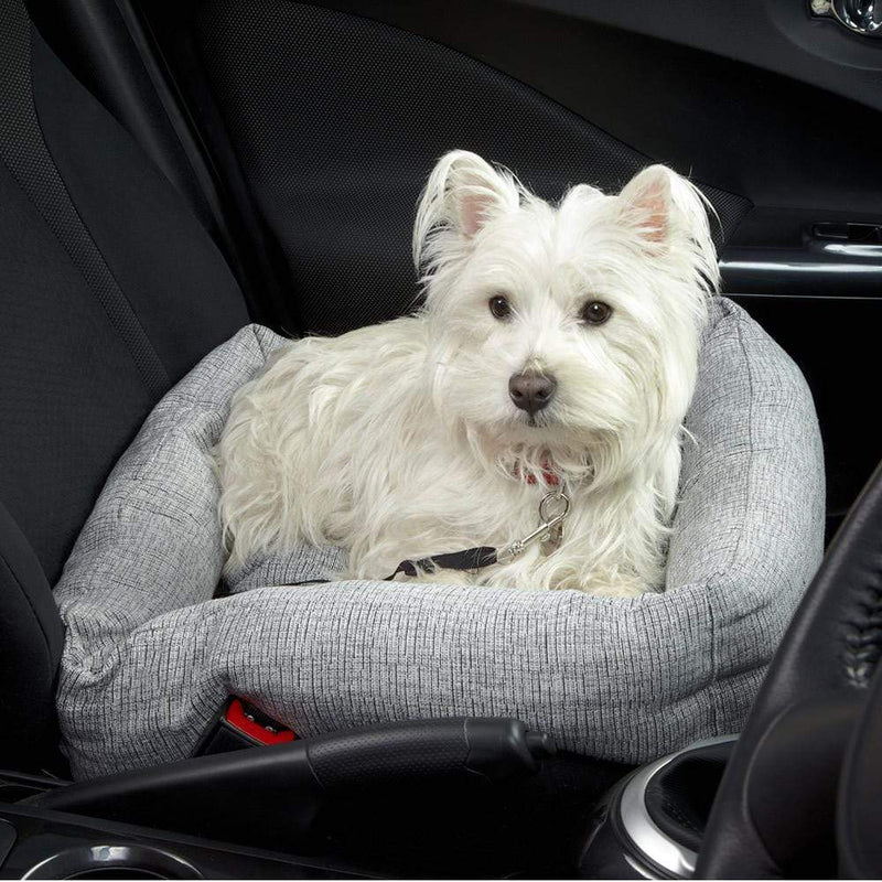 Bunty Travel Dog Bed Soft Washable Car Seat Cushion Warm Luxury Pet Basket - Personalised Option