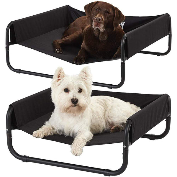 Bunty Raised Dog Bed, Elevated Dog Pet Bed Portable Waterproof Outdoor Raised Camping Basket