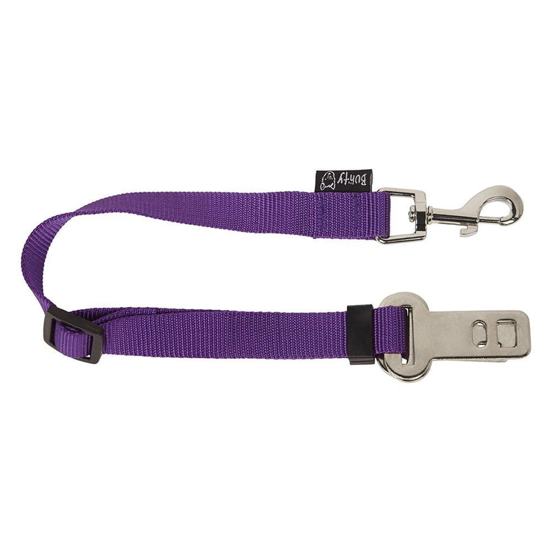 Dog - Cat Safety Travel Seat Belt Restraint Harness Clip For Car Van Lead - Personalised Option