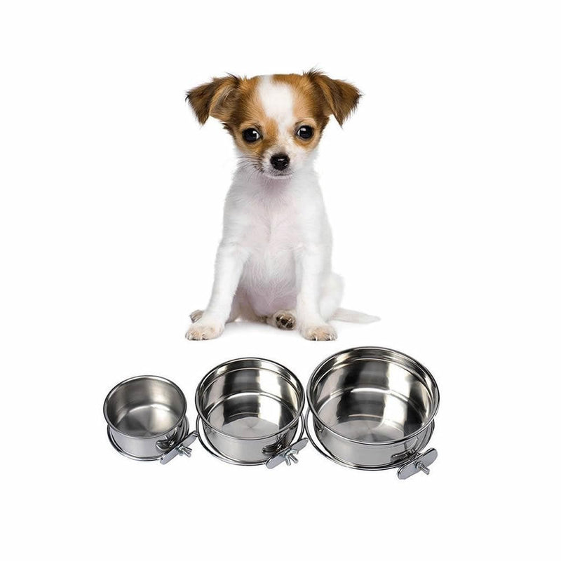 Bunty Dog Cage Steel Bowl